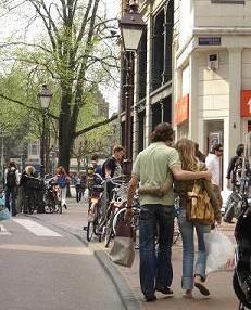 アムステルダムのショッピング